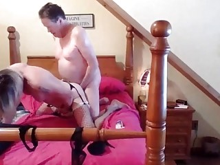 Emotional Shemale Janey getting fucked bareback 1 of 3