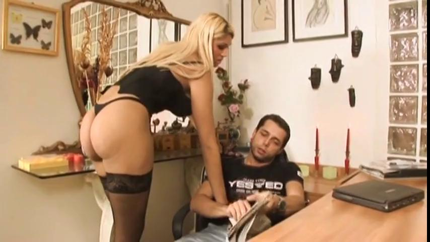 Hot Blonde Fucked Kitchen